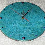 Для дома и интерьера handmade. Livemaster - original item Watch Turquoise mood with lapis lazuli. Handmade.