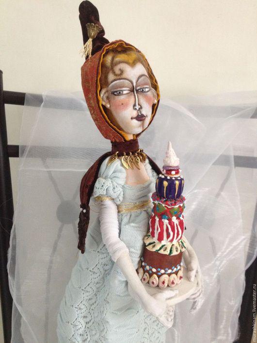 ВЕНЕЦИАНСКИЕ СЛАДОСТИ. Интерьерная текстильная кукла  купить в подарок
