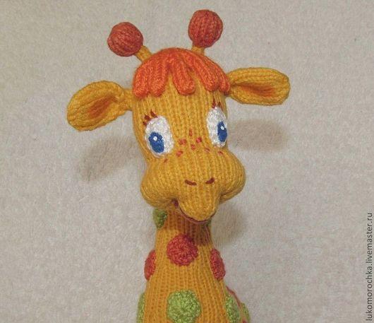 """Обучающие материалы ручной работы. Ярмарка Мастеров - ручная работа. Купить MK """"Жирафик Жоржик"""". Handmade. МК, жираф, любопытница"""