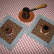 Для дома и интерьера ручной работы. Ярмарка Мастеров - ручная работа Набор ланч-матов. Handmade.