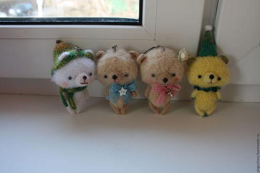 Игрушки животные, ручной работы. Ярмарка Мастеров - ручная работа. Купить Вязаные мишки амигуруми. Handmade. Мишки сувениры, медвежонок