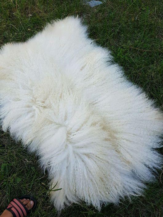 Текстиль, ковры ручной работы. Ярмарка Мастеров - ручная работа. Купить Продана!Шкурка козы для кукольных волос. Handmade. Козий пух