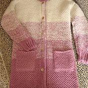 Одежда handmade. Livemaster - original item Knitting coat. Handmade.