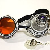 "Субкультуры handmade. Livemaster - original item INFORMAL Goggle Eyewear ""WELDER-51"" Steampunк. Handmade."