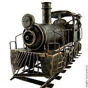 Сувениры и подарки handmade. Livemaster - original item The Locomotive