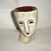Сувениры и подарки ручной работы. Ярмарка Мастеров - ручная работа аромалампа-маска. Handmade.