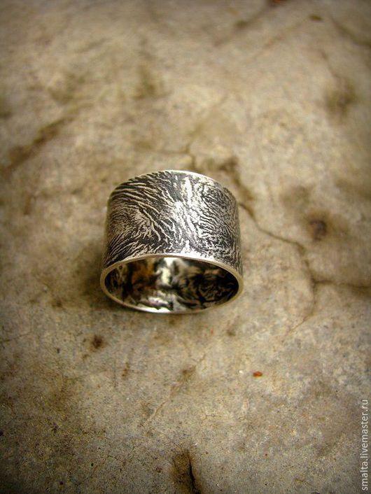 Кольца ручной работы. Ярмарка Мастеров - ручная работа. Купить Кольцо Фактура серебра. Handmade. Кольцо, кольцо из серебра