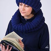 Аксессуары handmade. Livemaster - original item Knitted Snood. Handmade.