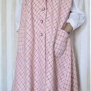 Clothing handmade. Livemaster - original item Vest-coat from Chanel fabric. Handmade.