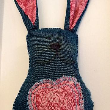 Куклы и игрушки ручной работы. Ярмарка Мастеров - ручная работа Зайцы мелкие. Handmade.