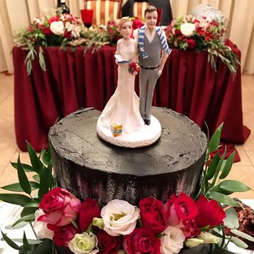 """Свадебный салон ручной работы. Ярмарка Мастеров - ручная работа Фигурки на свадебный торт """"Сама нежность"""", свадебные фигурки. Handmade."""
