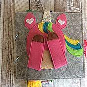 Мягкие игрушки ручной работы. Ярмарка Мастеров - ручная работа Книга Единорожка для маленькой принцессы. Handmade.