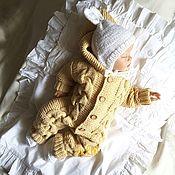 Работы для детей, handmade. Livemaster - original item Jumpsuit knitted Cosy. Handmade.