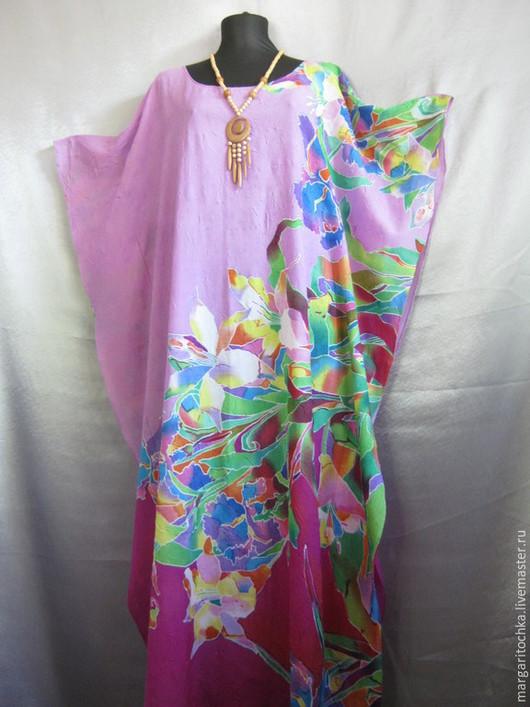 Пляжные платья ручной работы. Ярмарка Мастеров - ручная работа. Купить Сиреневое пляжное платье. Handmade. Пляжная одежда