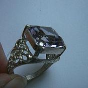 Украшения handmade. Livemaster - original item Ring with amethyst. Handmade.