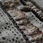 Украшения ручной работы. Ярмарка Мастеров - ручная работа Браслет Винтажный (Бардо) в стиле Бохо, текстильный. Handmade.