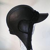 """Аксессуары ручной работы. Ярмарка Мастеров - ручная работа Шапка-шлем """"Пилот"""". Handmade."""