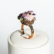 Украшения handmade. Livemaster - original item Ring with a bird