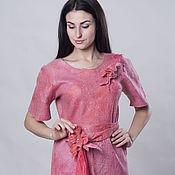 """Одежда ручной работы. Ярмарка Мастеров - ручная работа Платье валяное """"Розовый сон"""". Handmade."""