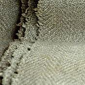 Материалы для творчества ручной работы. Ярмарка Мастеров - ручная работа Лён ткань антикварный. Handmade.
