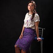 "Одежда handmade. Livemaster - original item Авторская юбка ""Амалия"". Handmade."