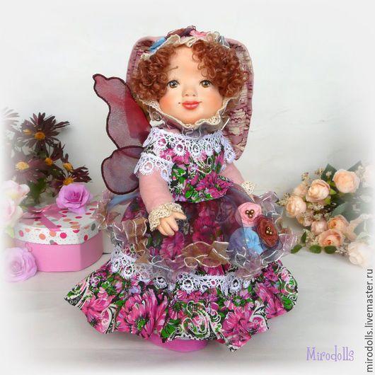 Коллекционные куклы ручной работы. Ярмарка Мастеров - ручная работа. Купить Зайка Фея.Зайка тедди-долл.Коллекционная кукла.Интерьерная игрушка. Handmade.