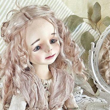 Куклы и игрушки ручной работы. Ярмарка Мастеров - ручная работа Люси в стиле ретро, винтаж. Деревенская девчушка со своим характером. Handmade.