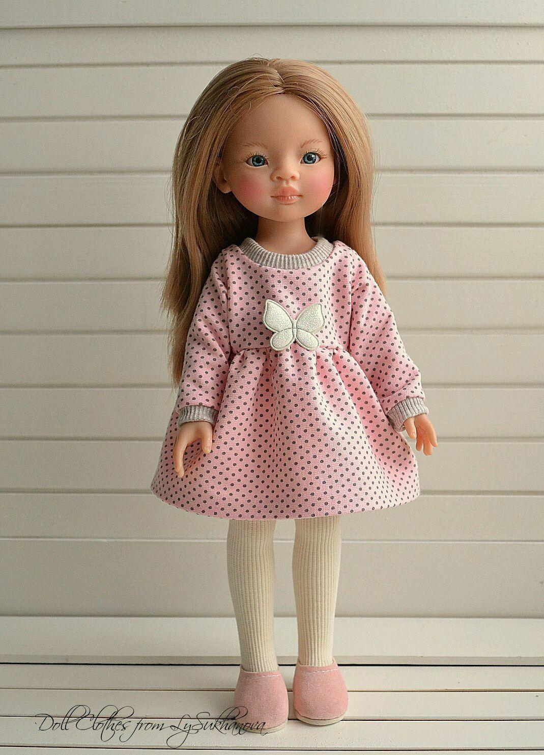 Платье +колготки для куколки, Одежда для кукол, Архангельск, Фото №1