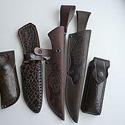 Сувениры и подарки handmade. Livemaster - original item The genuine leather sheath. Handmade.