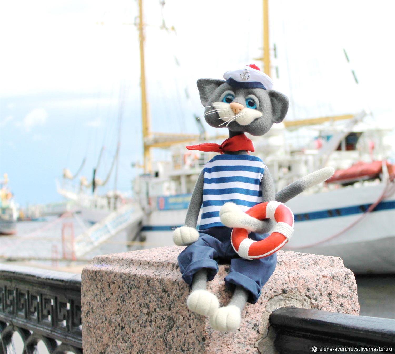 Кот Матвей!( Питерские коты), Войлочная игрушка, Санкт-Петербург,  Фото №1