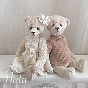 Куклы и игрушки ручной работы. Ярмарка Мастеров - ручная работа Белые мишки Тедди. Handmade.