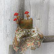 Куклы и игрушки ручной работы. Ярмарка Мастеров - ручная работа Кукла.Лягушка. Мухоморовна 1. Handmade.
