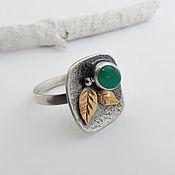 Украшения handmade. Livemaster - original item Ring in sterling silver Autumn trend handmade. Handmade.