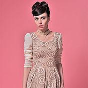 Одежда ручной работы. Ярмарка Мастеров - ручная работа Трикотажное платье ТP0009. Handmade.