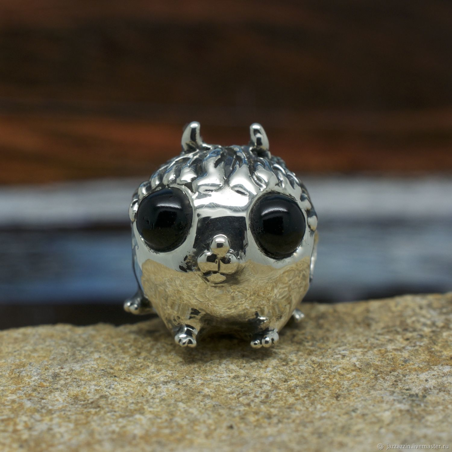 All for Jewelry Making handmade. Livemaster - handmade. Buy Puppy charm.Fantasy, sterling silver