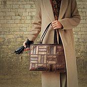 Сумки и аксессуары handmade. Livemaster - original item Women`s bag for documents, briefcase, laptop bag, 191. Handmade.