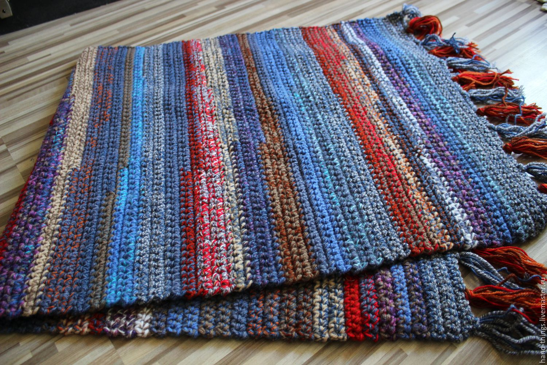 Вязание дорожек своими руками 52