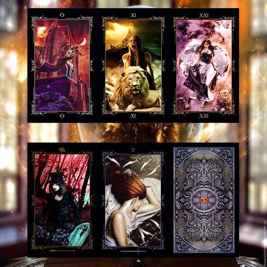 Эзотерические аксессуары ручной работы. Ярмарка Мастеров - ручная работа. Купить Таро Тёмных Сказок — Dark Fairytale Tarot. Handmade.