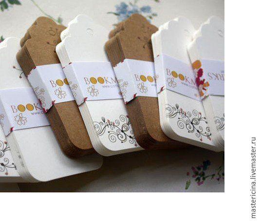 Упаковка ручной работы. Ярмарка Мастеров - ручная работа. Купить Бирки для упаковки изделий подарков 1. Handmade. Бежевый