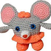 Мягкие игрушки ручной работы. Ярмарка Мастеров - ручная работа Мягкие игрушки: Мышата. Handmade.