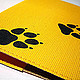 Covers handmade. Order Passport cover 'Dog'. Crowhouse. Livemaster. Cover, the author's work, yellow, can be washed