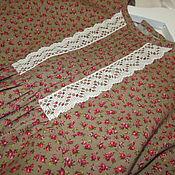 Работы для детей, handmade. Livemaster - original item Flannelette dress