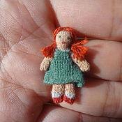 Куклы и игрушки ручной работы. Ярмарка Мастеров - ручная работа кукла для куклы 1:12. Handmade.