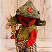 Куклы и игрушки ручной работы. Ярмарка Мастеров - ручная работа Красный кавалерист Стёпка.. Handmade.