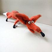 Куклы и игрушки handmade. Livemaster - original item Knitted toy Red Fox. Handmade.