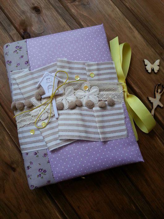 Блокноты ручной работы. Ярмарка Мастеров - ручная работа. Купить Блокнот. Handmade. Сиреневый, подарок на день рождения, малышу, бумага