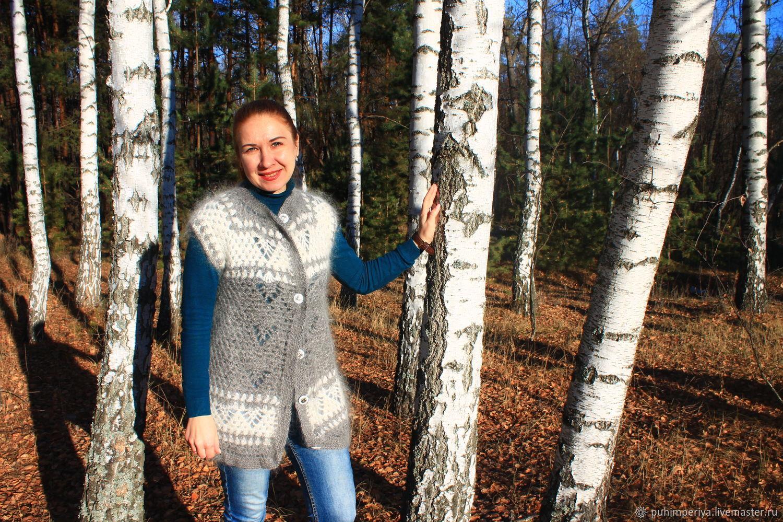 Down cardigan ' Olya-La-La', Cardigans, Voronezh,  Фото №1