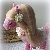 Куклы и игрушки handmade. Livemaster - original item Horse textile Valencia. Handmade.