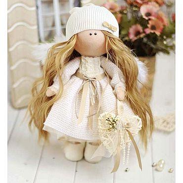 Куклы и игрушки ручной работы. Ярмарка Мастеров - ручная работа Интерьерная кукла ручной работы Ангелочек. Handmade.