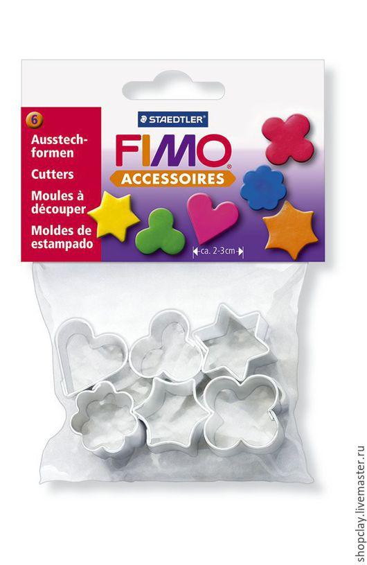 Набор каттеров  FIMO, 6 форм